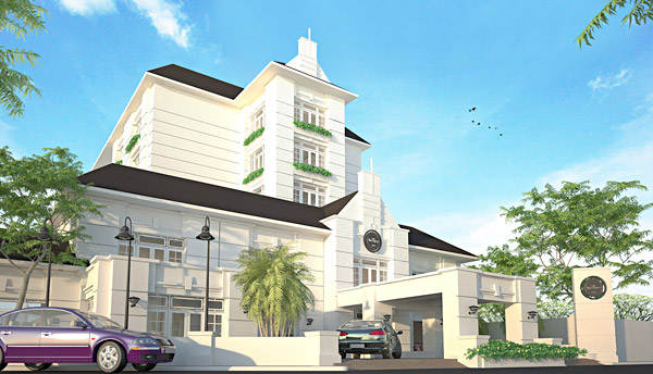Ngarsopuro hotel saka design group for Hotel design group
