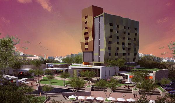 Agung tex hotel saka design group for Hotel design group