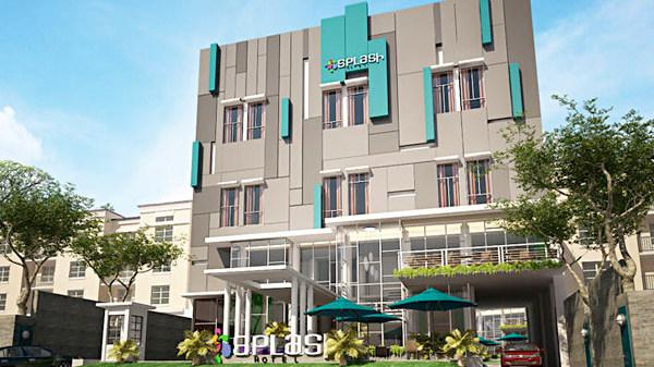 Splash hotel bengkulu saka design group for Design hotel group